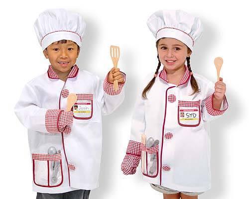 Melissa & Doug: Chef Costume Role Play Set image