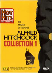Alfred Hitchcock Collection Vol 1 on DVD