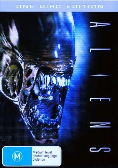 Aliens on DVD image