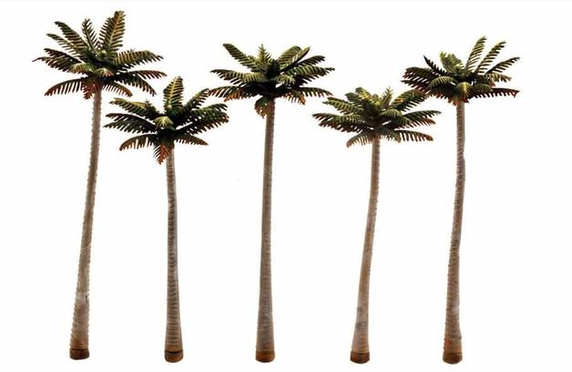 Woodland Scenics Palm Tree (5 pack Medium)