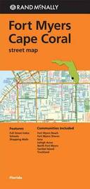 Folded Map FT Myers/Cape Coral FL Street by Rand McNally