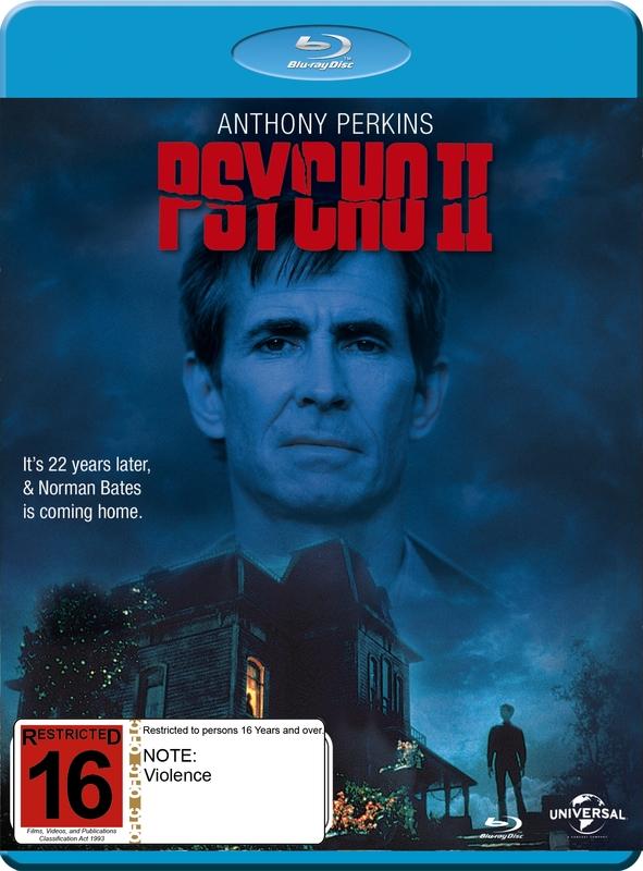 Psycho II on Blu-ray