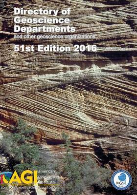 Directory of Geoscience Departments 2016 by Carolyn E Wilson image