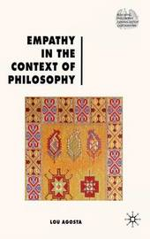 Empathy in the Context of Philosophy by Lou Agosta image