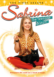 Sabrina, The Teenage Witch - Season 1 (4 Disc Set) on DVD image