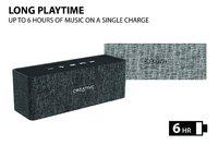 Creative Nuno Designer Cloth Bluetooth Speaker - Grey image