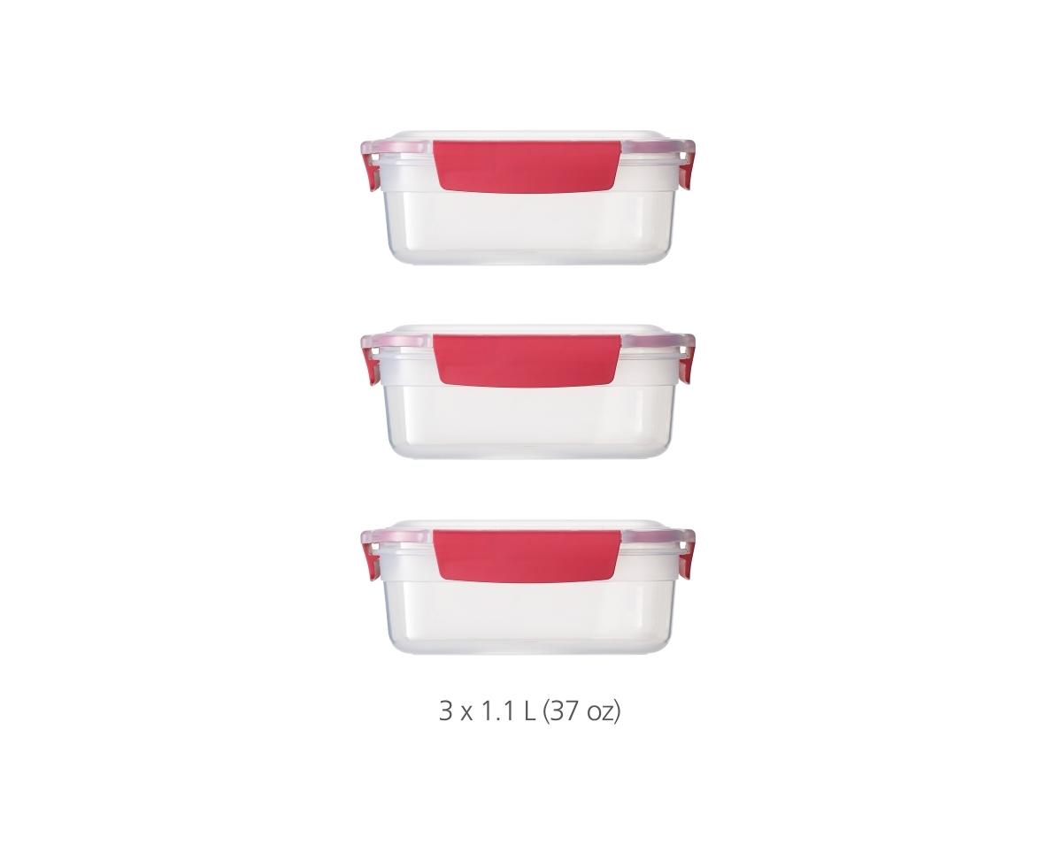 Joseph Joseph Nest Lock 3-Piece (Red) image