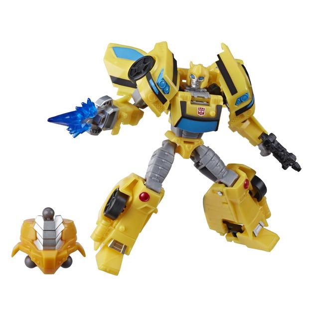 Transformers Cyberverse: Deluxe Class Action Figure - Bumblebee
