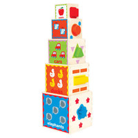Hape: Pyramid of Play (Wooden)
