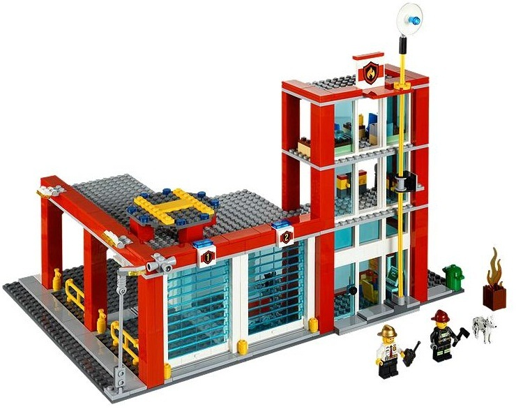 LEGO City - Fire Station (60004) image