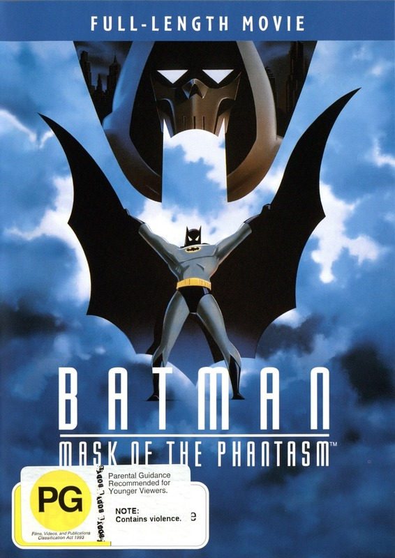 Batman Animated Vol 5: Mask Of The Phantasm on DVD