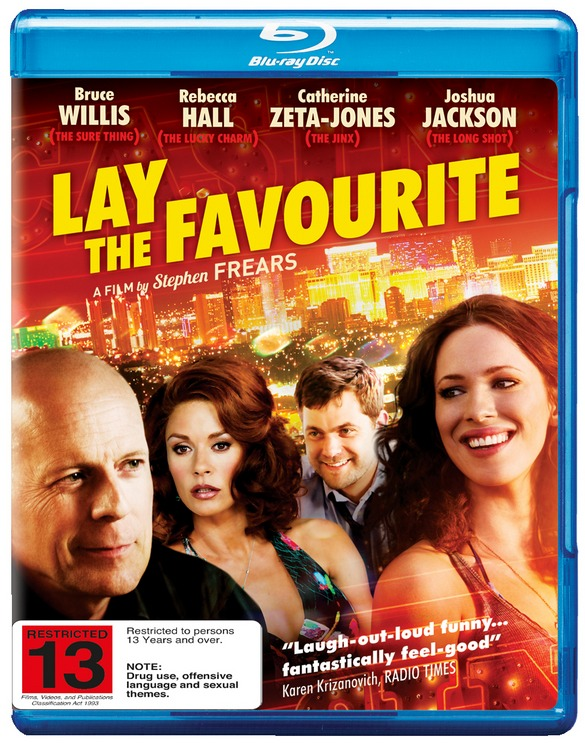 Lay the Favourite on Blu-ray