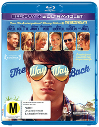 The Way, Way Back on Blu-ray, UV