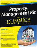 Property Management Kit For Dummies by Robert S Griswold