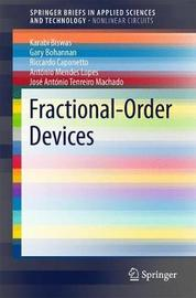 Fractional-Order Devices by Karabi Biswas image