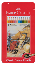 Faber-Castell: Classic Coloured (Tin of 12) image