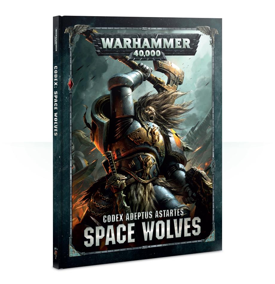 Warhammer 40,000 Codex: Space Wolves image
