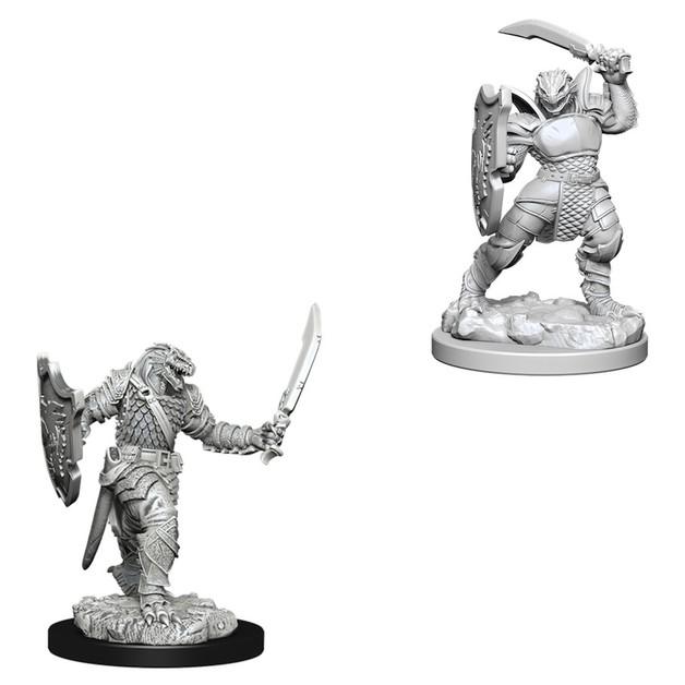 D&D Nolzur's Marvelous: Unpainted Miniatures - Dragonborn Female Paladin