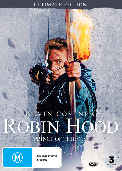 Robin Hood: Prince Of Thieves - Ultimate Edition on DVD