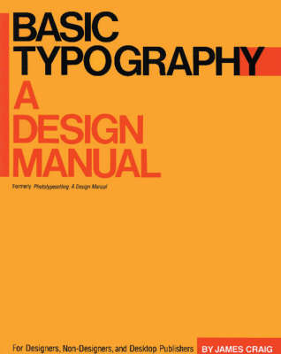 Basic Typography: A Design Manual by James Craig image