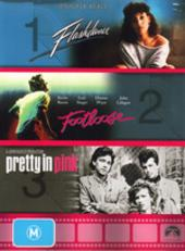 Footloose / Pretty In Pink / Flashdance Triple Pack (3 Disc Box Set) on DVD