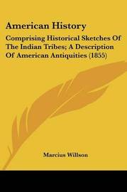 American History: Comprising Historical Sketches Of The Indian Tribes; A Description Of American Antiquities (1855) by Marcius Willson image