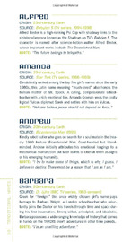 Sci-fi Baby Names by Robert Schnakenberg image