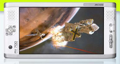 Archos AV700 40GB Portable Multimedia Player Video Photo Audio  TV Centric - AV Recorder