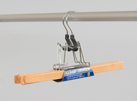 L.T. Williams - Wooden Clamp Hanger - 2 Pack