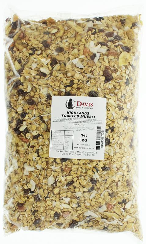 Davis Highlands Toasted Muesli (3kg)