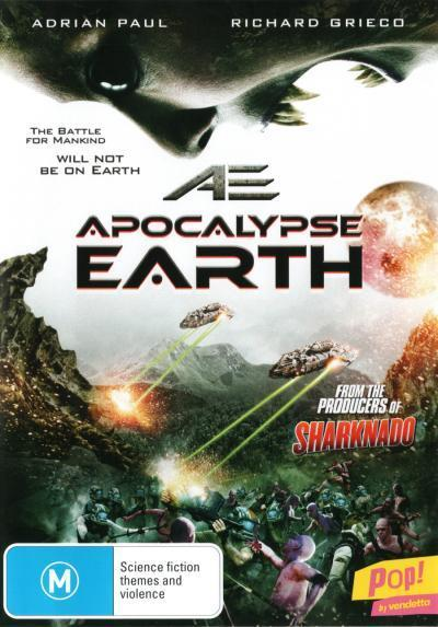 AE: Apocalypse Earth on DVD image