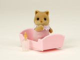 Sylvanian Families: Fox Baby - Pink Lindy