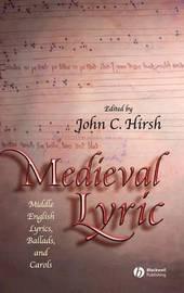 Medieval Lyric image