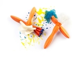 EC Colours - Mini Texture Wand - Pack of 4 (Set A)