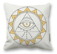 The Rise and Fall: Sun Eye Pillow
