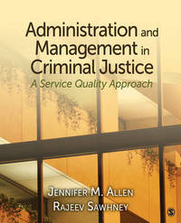 Administration and Management in Criminal Justice: A Service Quality Approach image