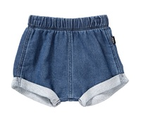 Bonds Chambray Shorts - Mid Blue (0-3 Months)
