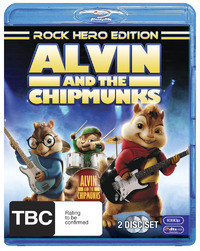 Alvin and the Chipmunks: Rock Hero Edition on Blu-ray
