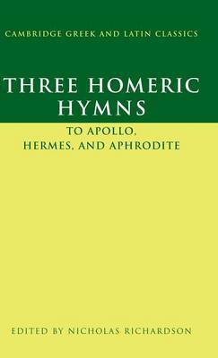 Three Homeric Hymns by Nicholas Richardson image