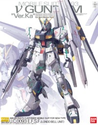 1/100 MG Nu Gundam Ver.Ka (Premium Decal Ver.) - Model Kit