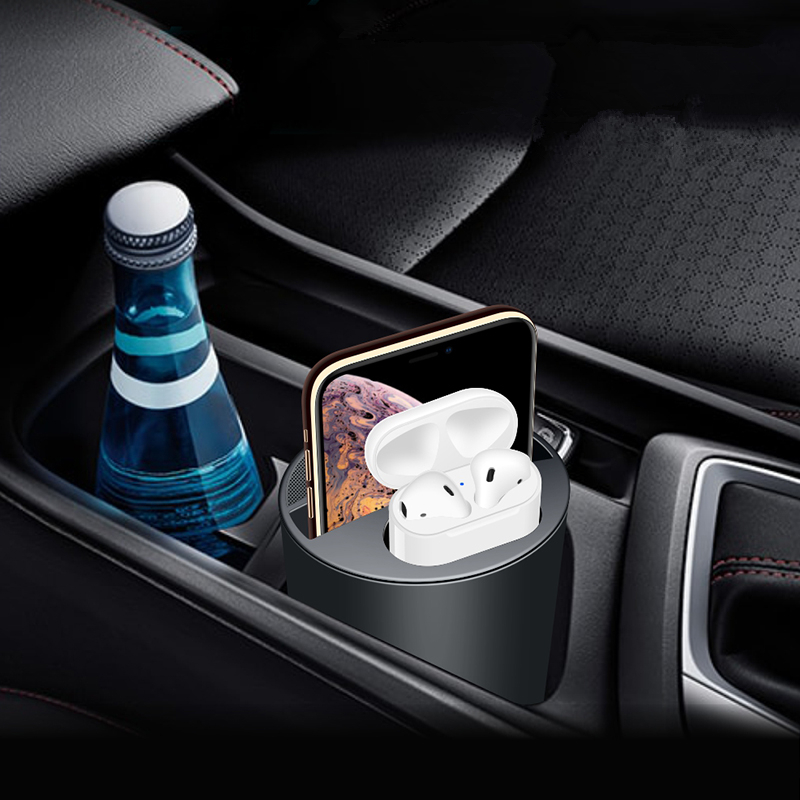Ape Basics 2-in-1 Cup Holder/Wireless Car Charger image