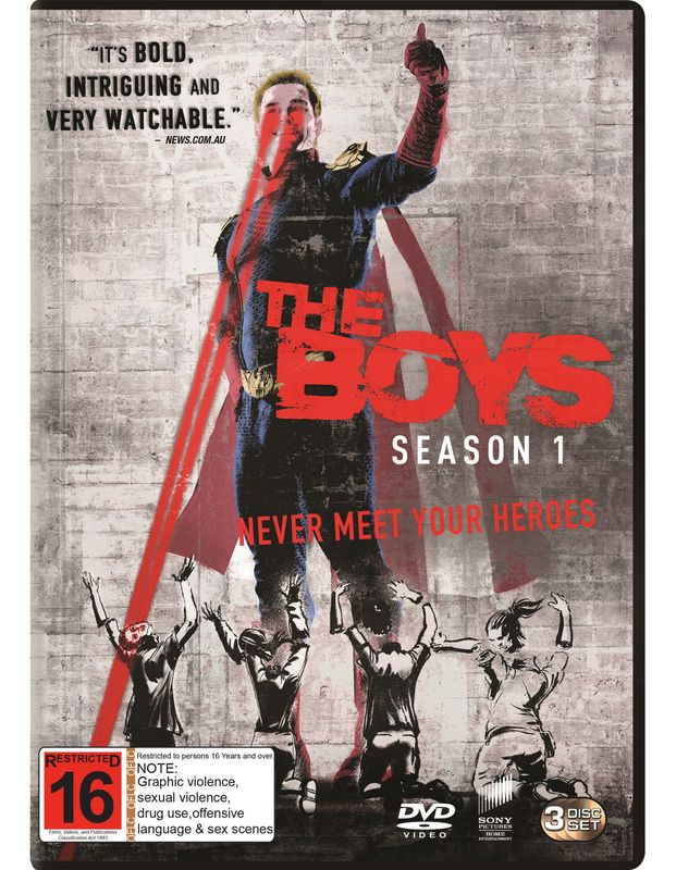 The Boys - The Complete First Season on DVD