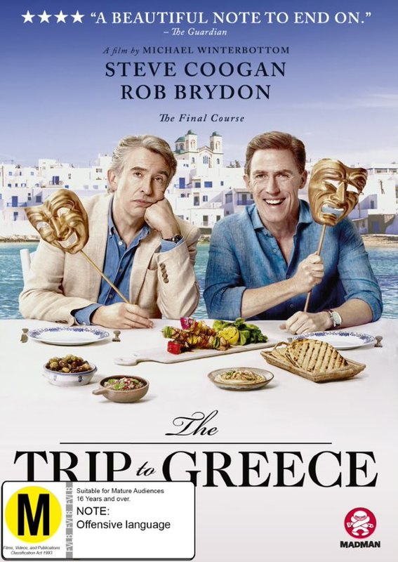 The Trip To Greece on DVD