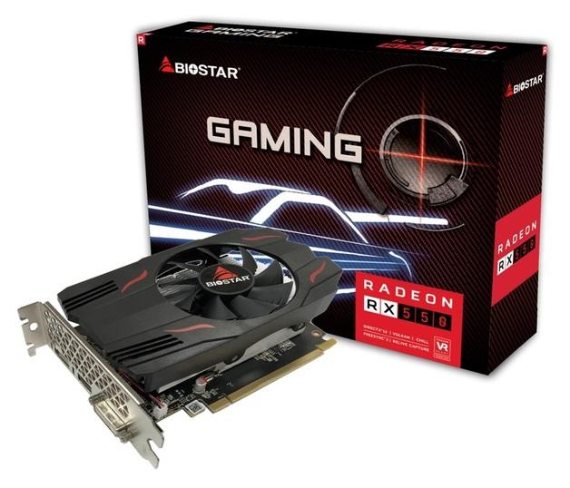 BIOSTAR Radeon RX550 2GB GPU