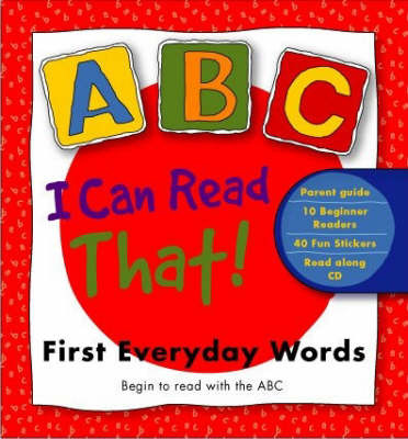 I Can Read That! First Everyda by Macmillan Abc image