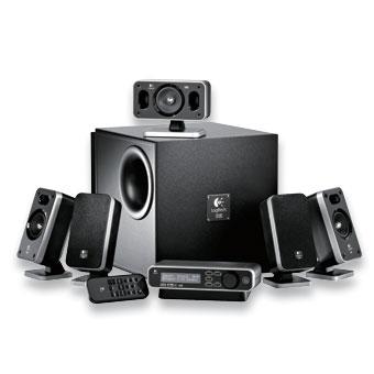 Logitech Z-5400 Digital 5.1 Speaker System image