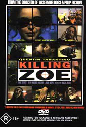 Killing Zoe on DVD