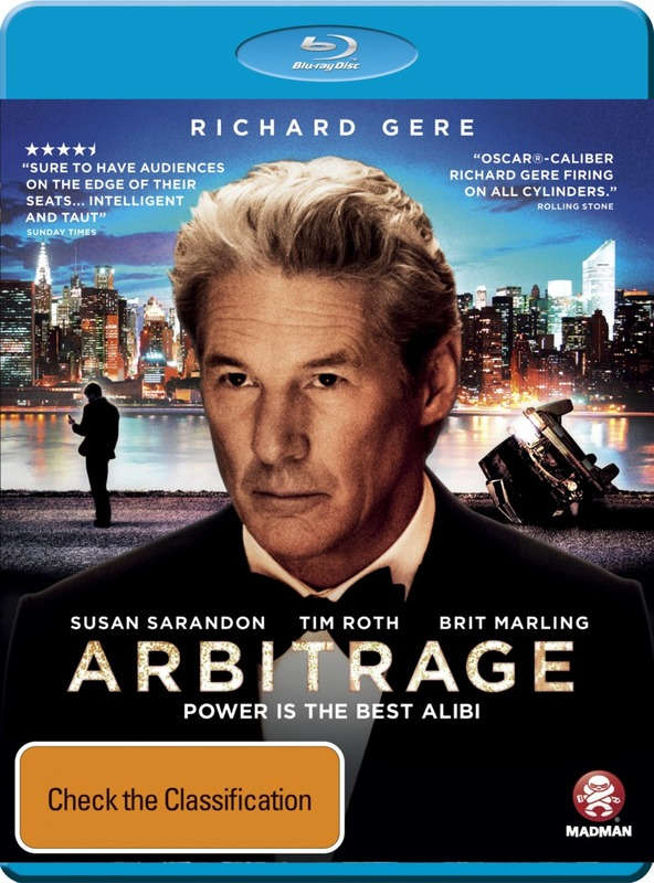 Arbitrage on Blu-ray
