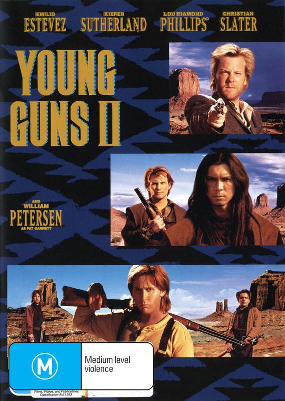 Young Guns II on DVD