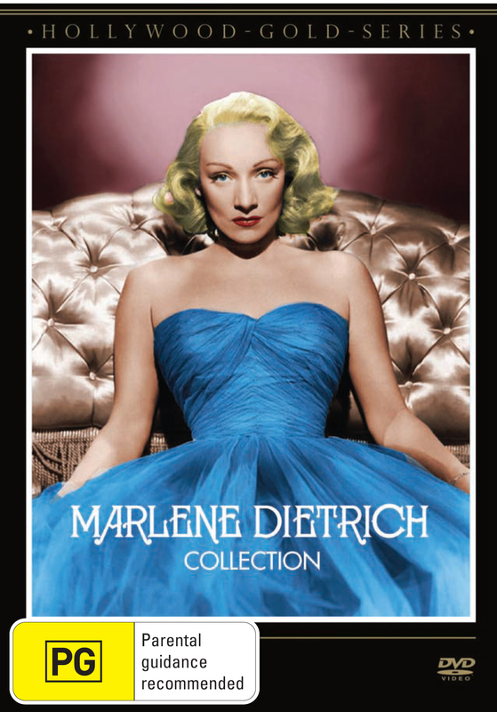 Hollywood Gold - Marlene Dietrich Collection on DVD